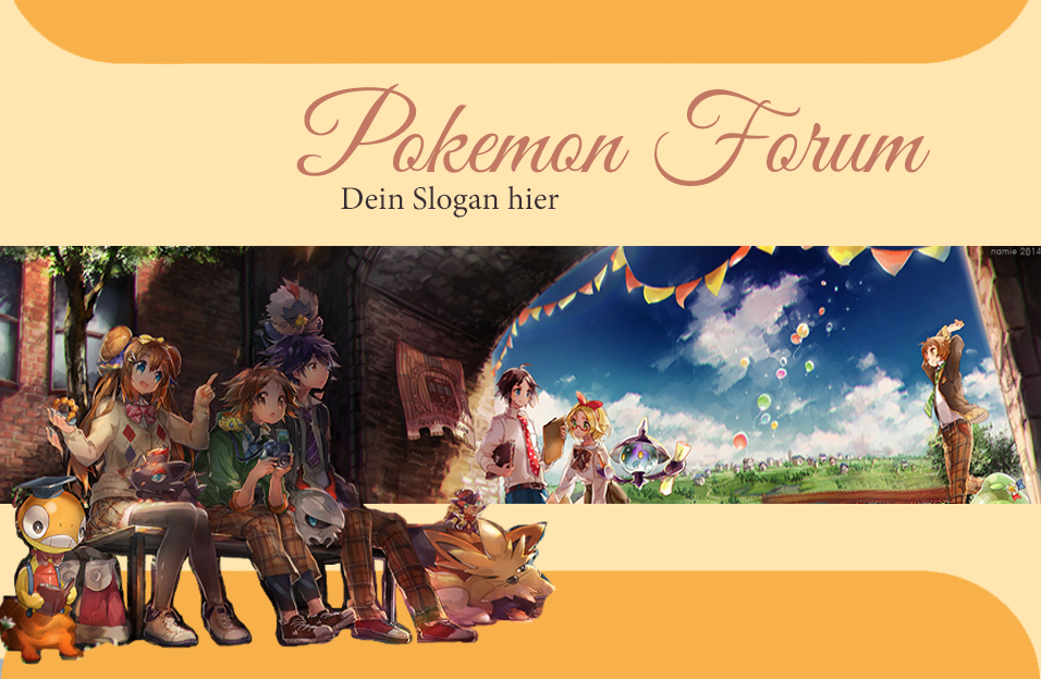Forumieren - Pokémon Layout Summervacation