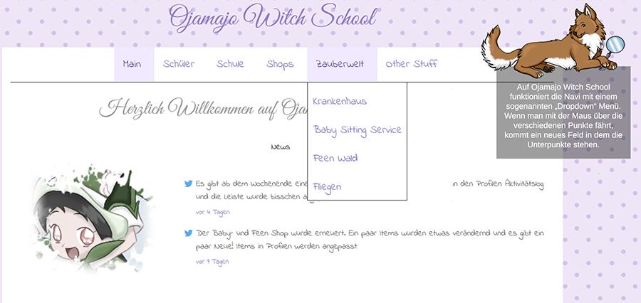 Schritt für Schritt zur eigenen Klickpage (In Bearbeitung!) Navi3